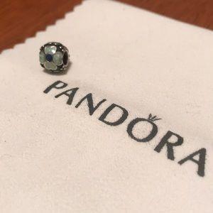 Pandora Blue Flower Charm